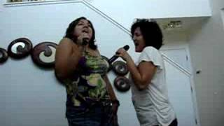 My sister and I singing and dancing to Toxic.... I think we were to...