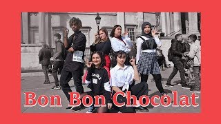 [AZIZA] K-POP IN PUBLIC LONDON   EVERGLOW (에버글로우) - BON BON CHOCOLAT (봉봉쇼콜라 ) dance cover