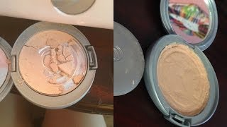 How to Fix a Broken Powder, Eye Shadow, Bronzer or Blush! ♥ Thumbnail
