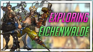 [Overwatch PTR] Exploring Eichenwalde (new map!)