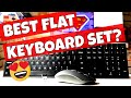 Which FLAT Wireless Keyboard and mouse is best?