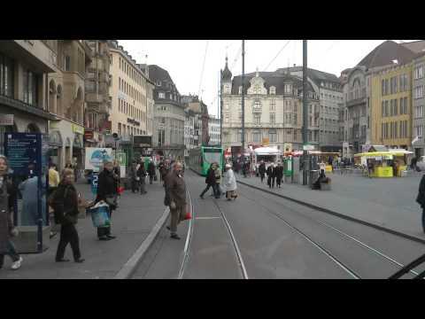 Strassenbahn Basel linia 6