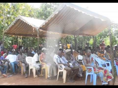 TOGO village d'Ahépé (région de Lomé)
