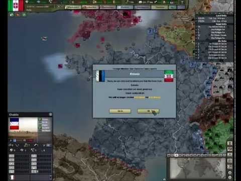 Let's Play Hearts of Iron 3 - Their Finest Hour - Part 2 Avanti Axis (Italy)  w/ PPCC
