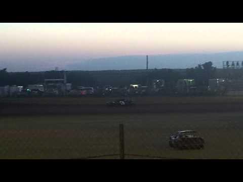 Richard Pece Mini Stock #3 Heat Race at Lawton Speedway 8-8-15