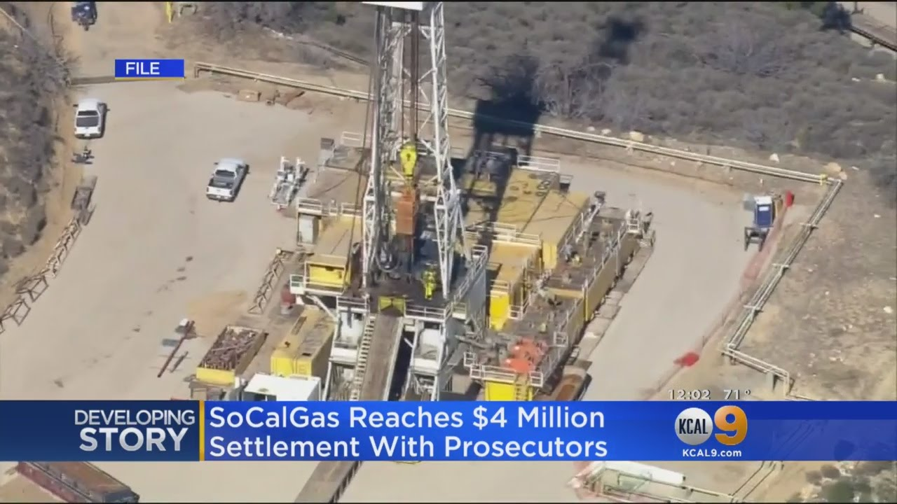 SoCalGas Agrees To $4M Settlement With Prosecutors