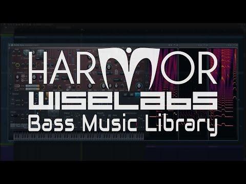 Harmor  Wiselabs Bass  Library