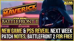 Battlefront Update & NEW Star Wars Game PS5 Reveal Next Week | Project Maverick & Battlefront 2 News