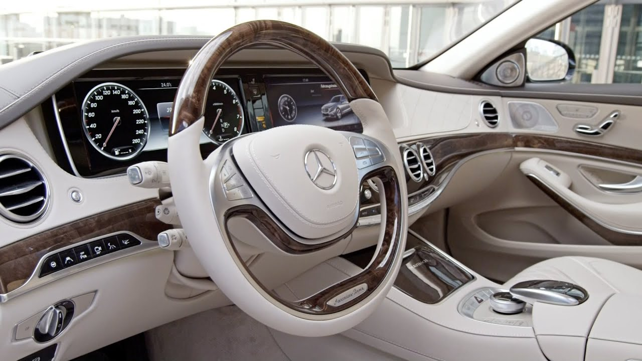 Maybach S Class 2016 Interior Youtube