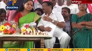 TRS Candidates | Must Speed Up Campaign to Win | MP Kavitha at Jagtial