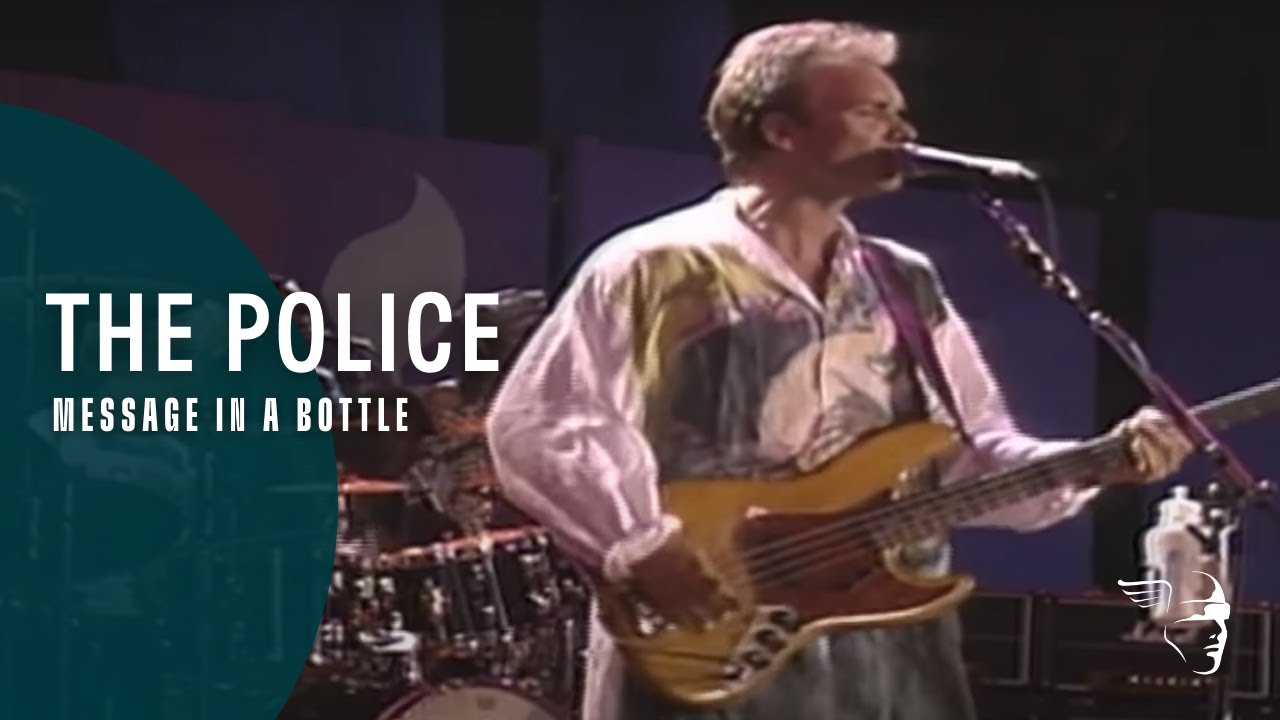 The Police - Message in a Bottle (Get up! Stand up!)