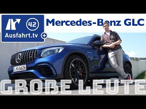 Mercedes-Benz GLC für große Personen? Ausfahrt.tv hilft.