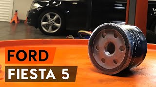 How to replace Brake rotors FORD FIESTA V (JH_, JD_) Tutorial