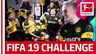Borussia Dortmund | FIFA 19 - NO RULES! | Reev, Sancho & Pulisic vs. DjMaRiiO, Alcacer & Hakimi