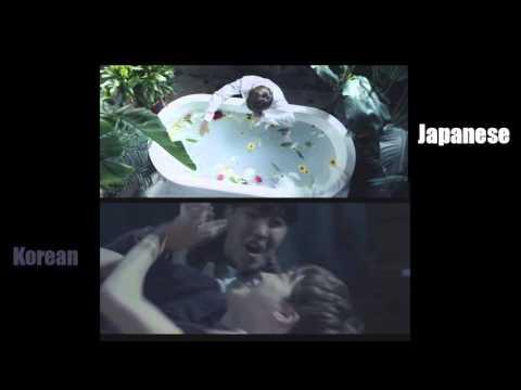 BTS - I Need U [Korean And Japanese Version Mixture]