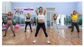 Download lagu WHOLE FAT ON BODY IS BEING BURNED in Just 60 Mins AEROBIC WORKOUT | Zumba Class