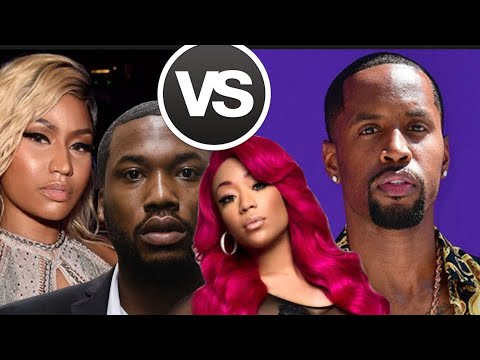 Meek Mill REACTS to Nicki Minaj vs Safaree, Jessica Dime COMES FOR Nicki and Nicki Minaj Reacts