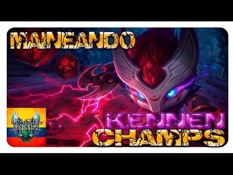 KENNEN, GUÍA DE CAMPEONES S7 League of Legends en español Maestrias Consejos y mas