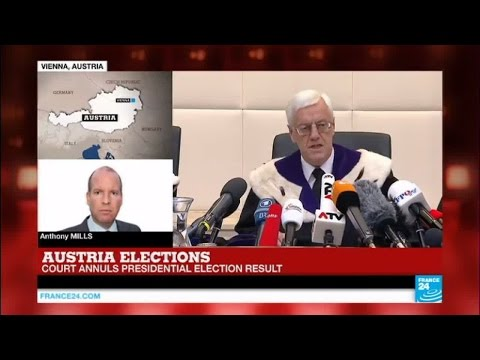 Austria elections: court annuls presidential election result