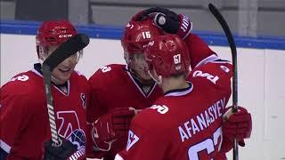 """Sochi Hockey Open 2018.  """"Локомотив"""" - Олимпийская сборная России - 2:3. Обзор матча"""