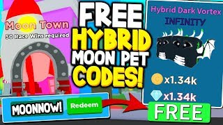 ✨FREE HYBRID MOON PET UPDATE CODES IN SPEED CHAMPIONS! Roblox