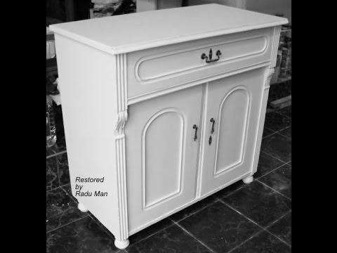 old furniture restoration shabby chic restaurare mobila. Black Bedroom Furniture Sets. Home Design Ideas