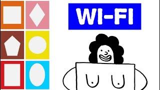 СМЕШНЫЕ РИСУНКИ для взрослых   Рисунок Вайфай   FUNNY DRAWINGS for adults   Drawing Wi-Fi