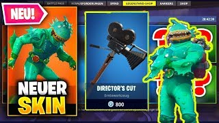 NEW SHOP: SUMPFMONSTER - SPITZHACKE! (Fortnite Shop/Skins)