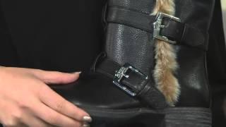 Aimee Kestenberg Faux Fur Lined Mid Calf Boots - Sammy Fur on QVC