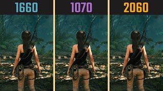 GTX 1660 vs. GTX 1070 vs. RTX 2060 (9 Games)