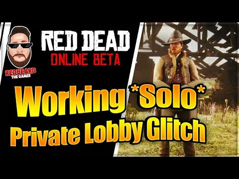 Working *Solo* Private Lobby Glitch in Red Dead Online ( XP, GLITCH, UPDATE ) Red Dead Redemption 2 thumbnail