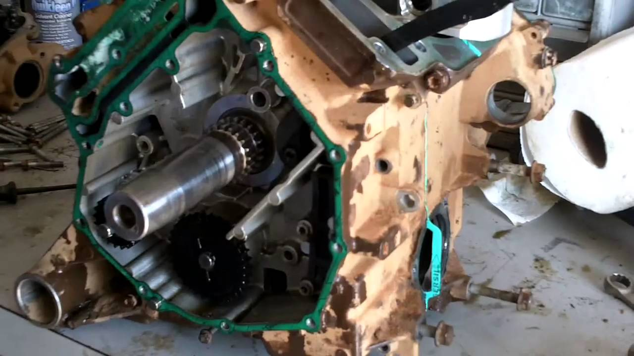 Can Am Outlander Renegade 500 650 800 Motor Assembly Youtube