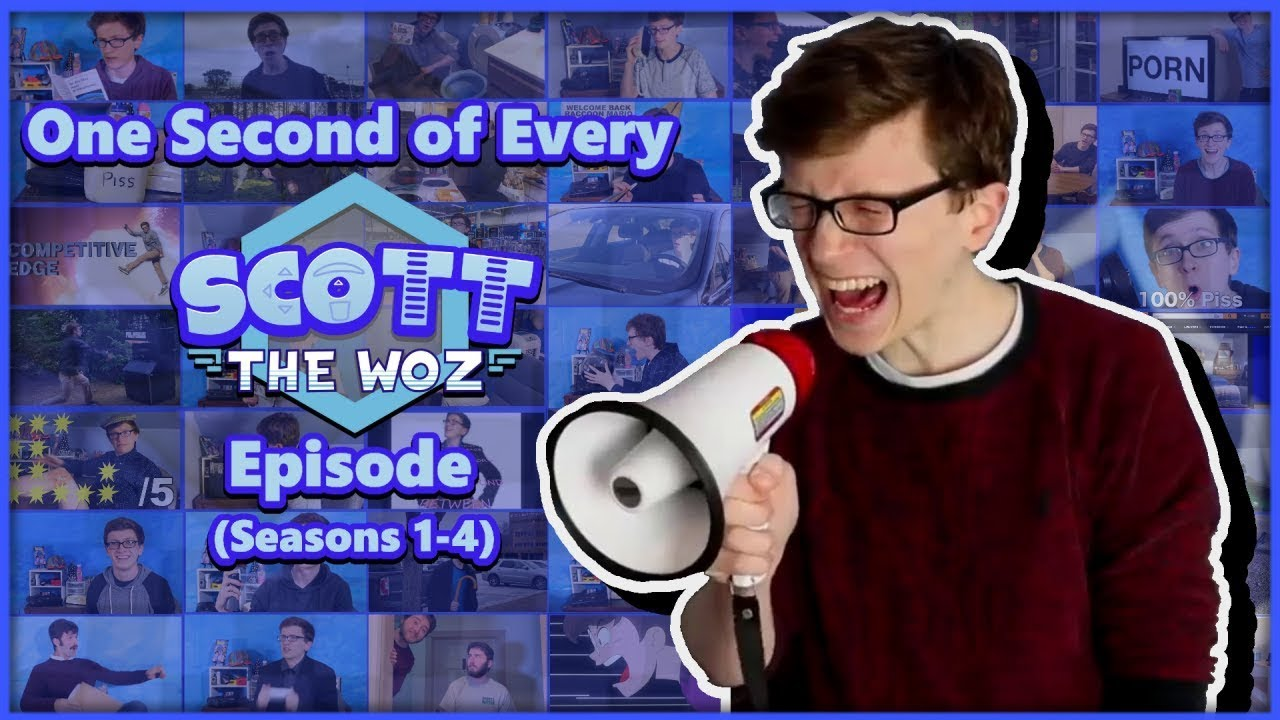 Download One Second of Every Scott The Woz Episode (Seasons 1-4) (Updated!)