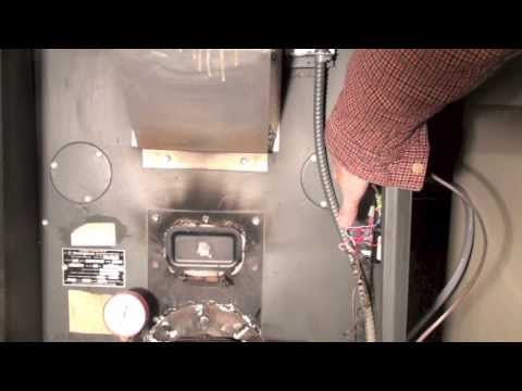 How to find clean outs on the the oil furnace heat exchanger