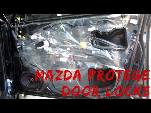 How To – Replace Door Lock Actuator – Mazda Protege