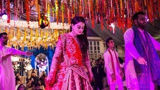 Minal Khan Dance Performance on Aiman Khan Mehndi