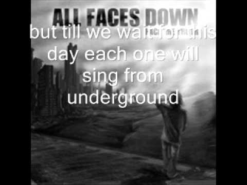 Клип All Faces Down - I Won't care