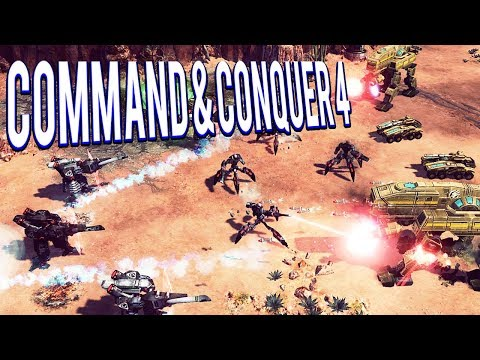 WORST RTS EVER! 👾👾👾👾👾  - COMMAND AND CONQUER 4 MULTIPLAYER