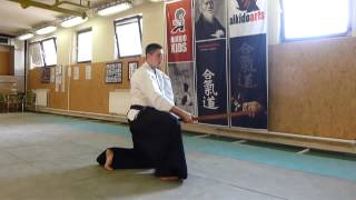 zagi suburi shiho/4 directions(sword) négy irány [TUTORIAL] Aikido basic weapon technique 合気剣