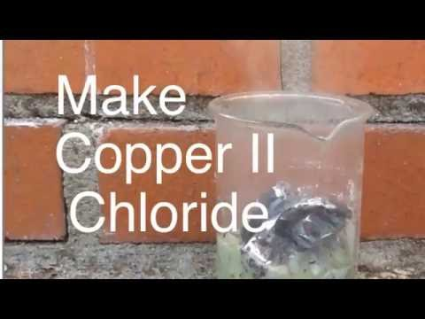 Make Copper II Chloride and Reaction with Aluminum