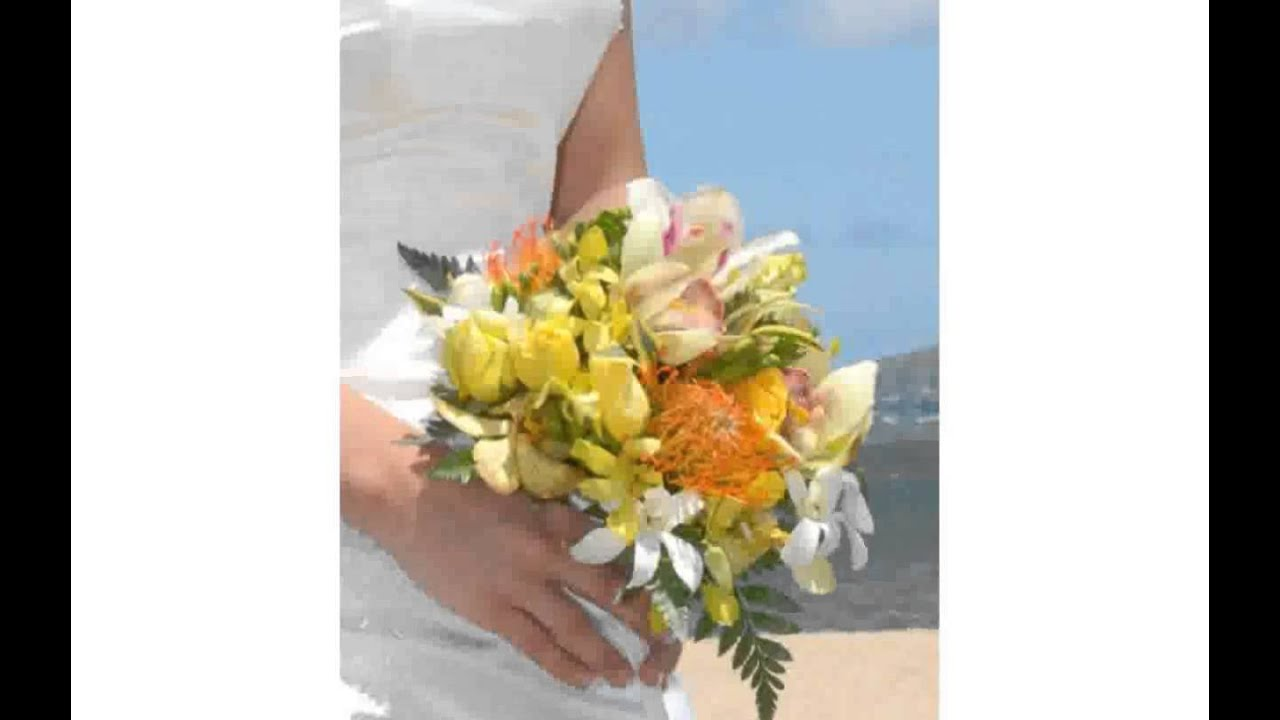 Hawaiian Wedding Bouquets Youtube