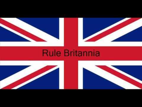 The British Empire Rule Britannia