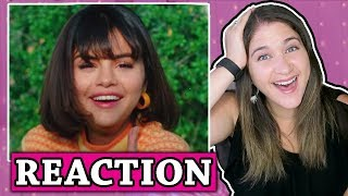 back to you selena gomez music video reaction