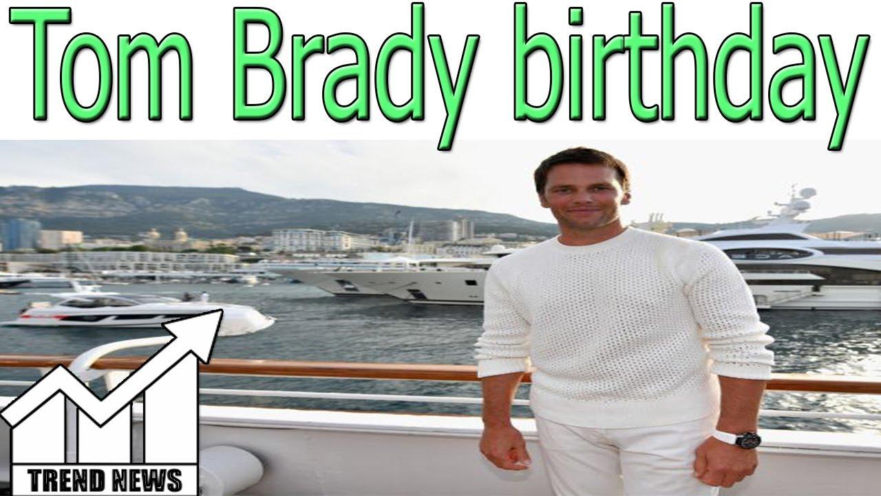 The Patriots Got Tom Brady An Insane Birthday Cake Youtube