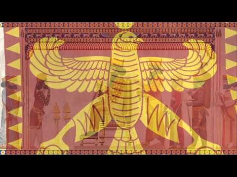 Pārsa, Persian (Achaemenid) Empire tribute flag & anthem