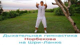 Дыхательная гимнастика Норбекова на Шри-Ланке, массаж точек.