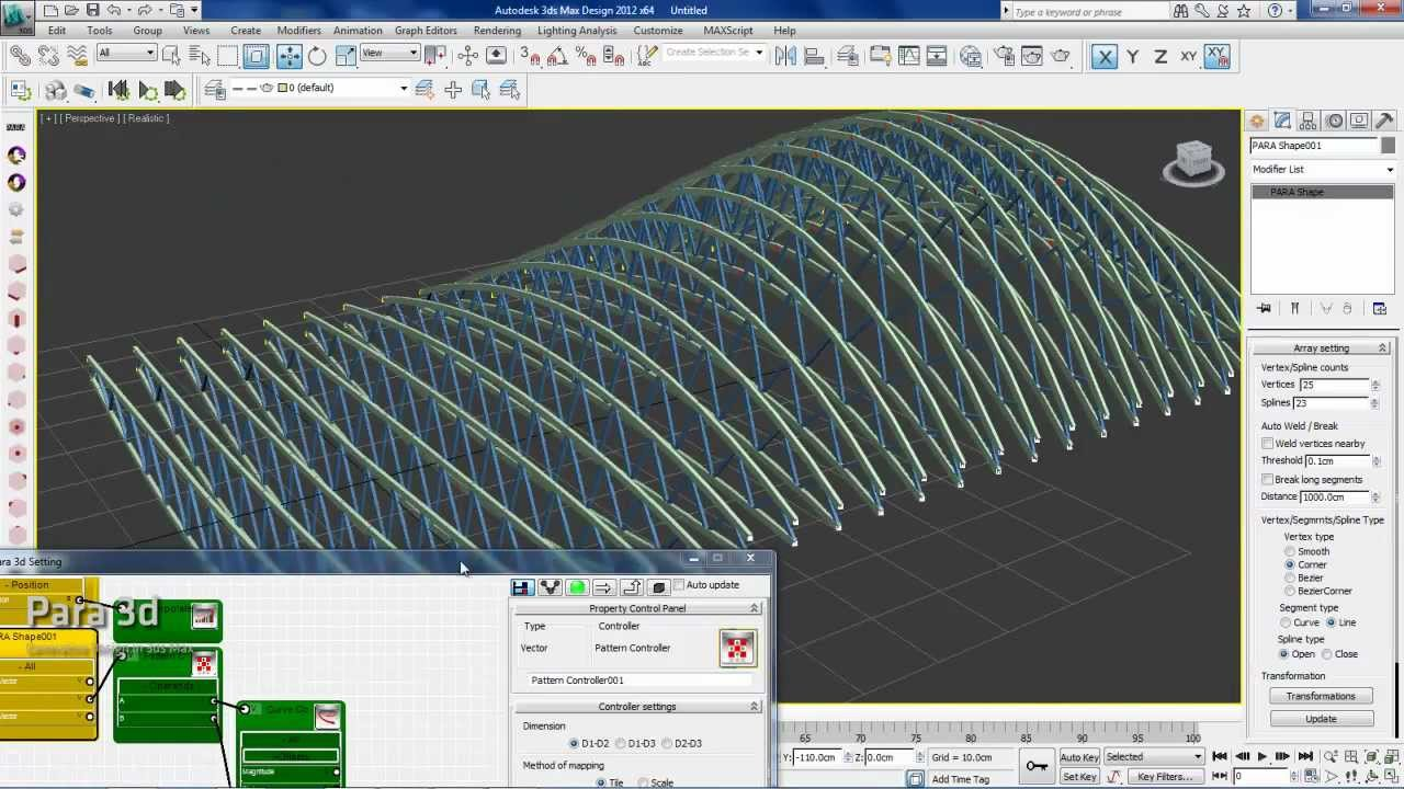 Parametric Trusses Using Pattern Controller Youtube