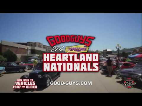 Goodguys Th Speedway Motors Heartland Nationals YouTube - Good guys motors