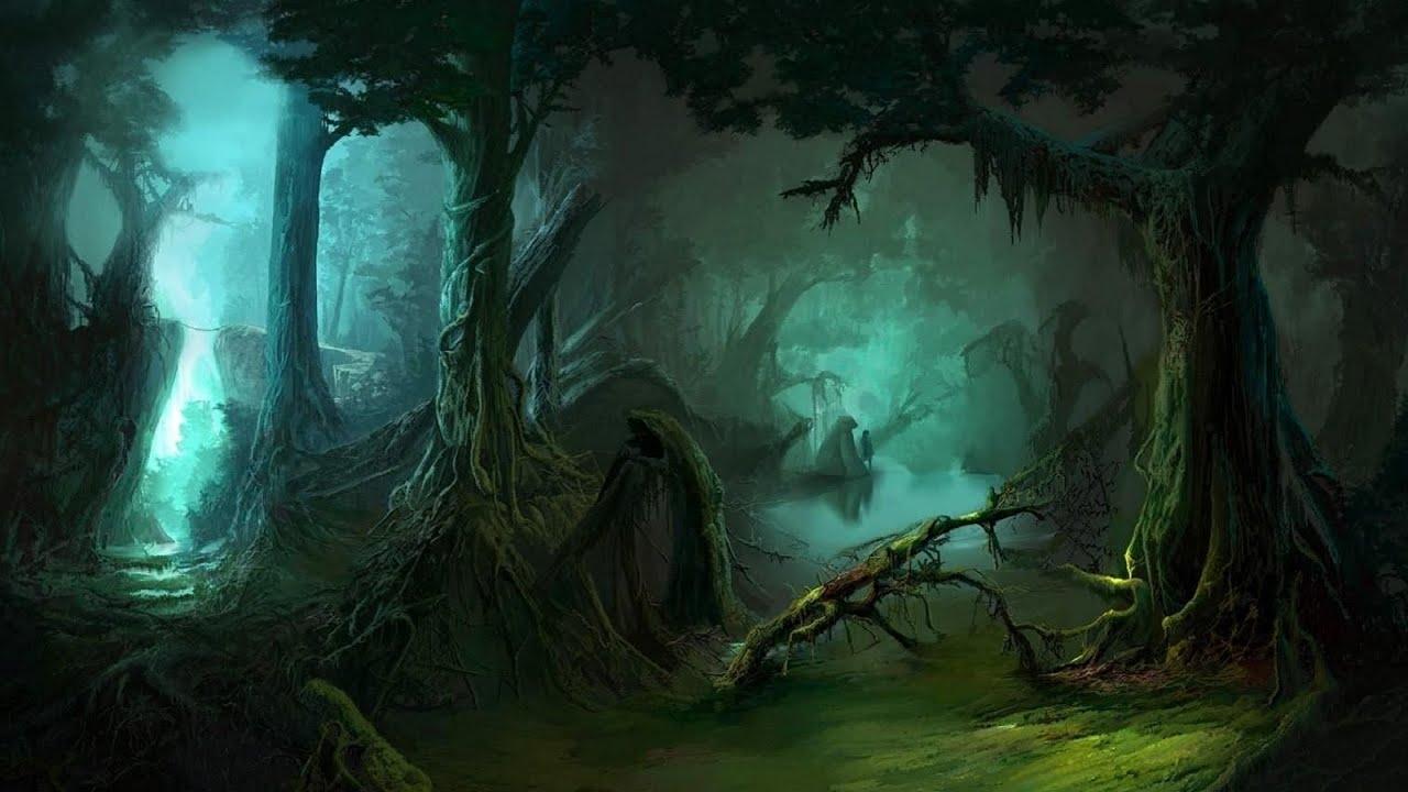 Live Wallpaper Fall Leaves Tribal Jungle Music Dark Rainforest Youtube