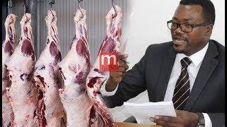 Waziri Mpina atema 'CHECHE', Ateketeza tani 8 za nyama mbovu